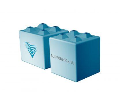 Superblock séparateur 80x80 cm